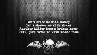 Avenged Sevenfold - Natural Born Killer [Lyrics on screen] [Full HD]