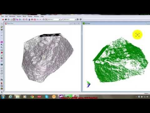 LISCAD - Point Cloud - Volume Calculations