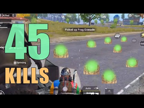 NEW WORLD RECORD 45 KILLS!!! | FEAT. LEVINHO | DUO SQUAD | PUBG MOBILE
