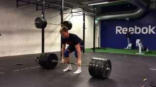 Deadlift, 200kg (440lbs), 10 reps @ 86kg bodyweight.