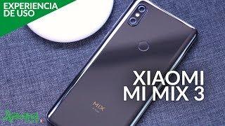 Xiaomi Mi MIX 3, EXPERIENCIA DE USO: CERÁMICA y PANTALLA sin INTERRUPCIONES