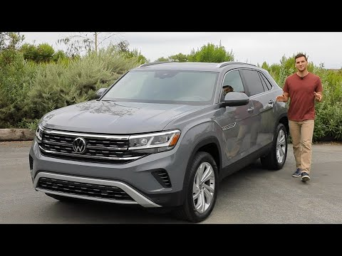 2020 Volkswagen Atlas Cross Sport Test Drive Video Review