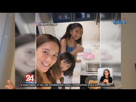 [GMA]  24 Oras: Ilang celebrity moms, proud sa kanilang mga anak na marunong nang magtipid