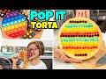POP IT TORTA GIGANTE, Lecca Lecca e Barretta al Cioccolato Golosa