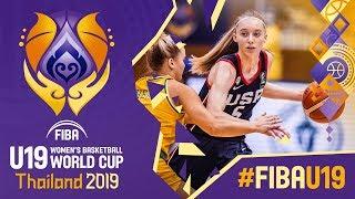 Australia v USA Highlights w/ Bueckers MVP Performance - FIBA U19 Women's Basketball World Cup 2019