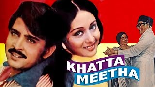 Khatta Meetha (1978) Full Hindi Movie | Rakesh Roshan, Ashok Kumar, Bindiya Goswami - Download this Video in MP3, M4A, WEBM, MP4, 3GP