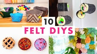 10 Easy DIYs Made From Felt! - HGTV Handmade