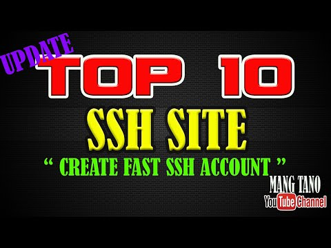 TOP 50 LIST OF SSH AND VPN SITE YOU CAN CREATE ACCOUNT FOR