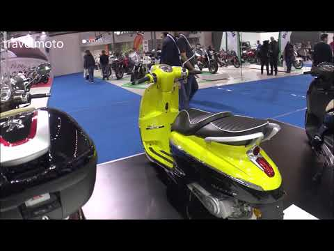 The 2018 PEUGEOT DJANGO ALLURE 150 scooter