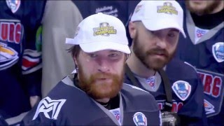 """""""Stand By Me"""". 2016 Gagarin Cup Finals Game 7 Opener"""