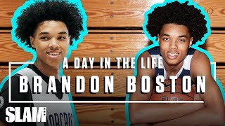 Brandon Boston is a BABY-FACED KILLA 💀  | SLAM Day in the Life
