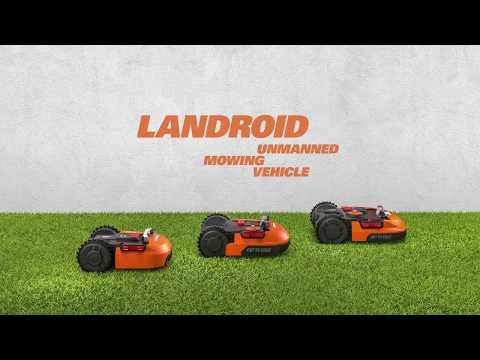 Le nouveau tondeuse robotisée Landroid  - FR - worx-europe.com