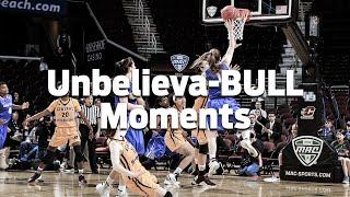Unbelieva-BULL Moments - Women's Basketball Buzzer Beater