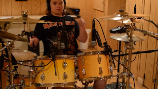 Hence The Noise - Robbie Russo studio drum cam medley