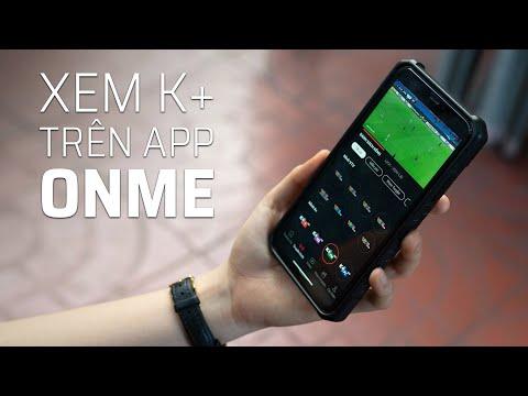 Trải nghiệm K+ trên ứng dụng ONME