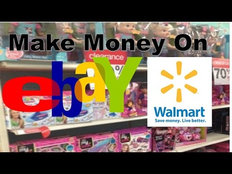How to: Make Money on Ebay Selling Walmart Items (Dropshipping from Walmart)