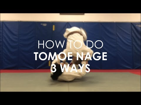 Tomoe nage 3 ways against Bjj stance RvR