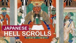 Japanese Hell Scrolls | Japanese Art History | Little Art Talks