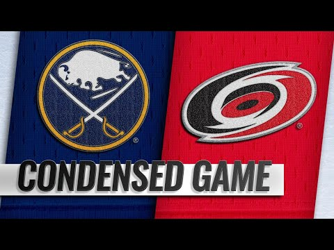 03/16/19 Condensed Game: Sabres @ Hurricanes