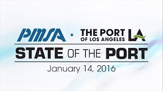 2016 State of the Port of Los Angeles