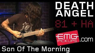 Death Angel plays 'Son Of The Morning' live on EMGtv!