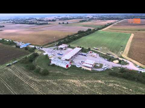 The Closing Of The Hungarian Border, As Seen By Drones