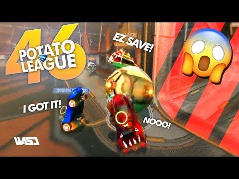 POTATO LEAGUE #46 | TRY NOT TO LAUGH Rocket League Funny Moments