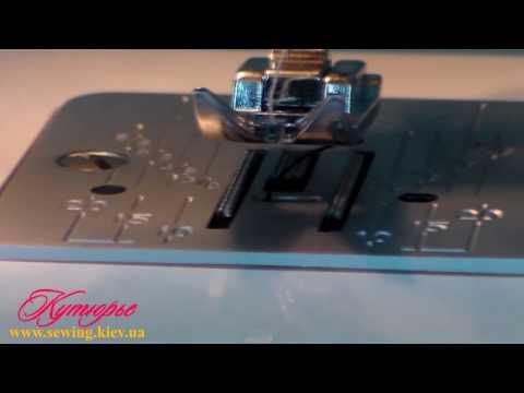 Відео про швейну машинку JANOME Sakura 95