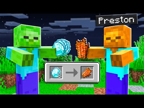 7 Ways to Steal Diamonds from Zombies! - Minecraft