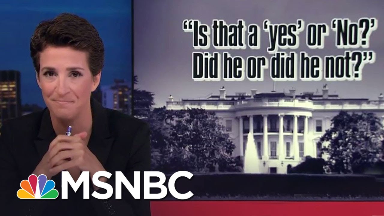 Mike Pence Spokesman Squirms On Russia Question | Rachel Maddow | MSNBC thumbnail