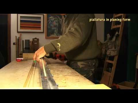 The Man From Le Sieci: Bamboo Rod Making