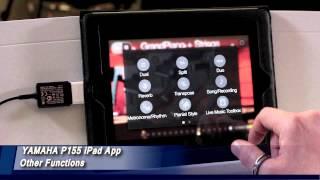 Yamaha P-115 con iPad