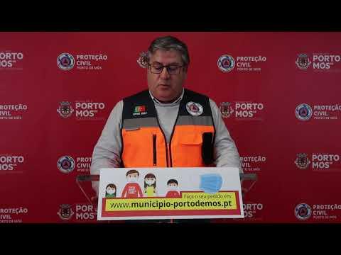 Comunicado Presidente da Câmara Municipal de Porto de Mós - COVID-19 - 22-04-2020