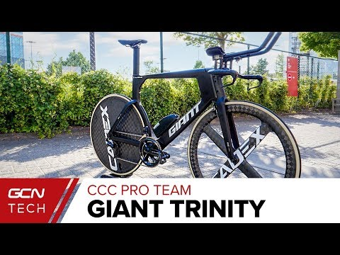CCC Pro Cycling Team's Giant Trinity Time Trial Bike