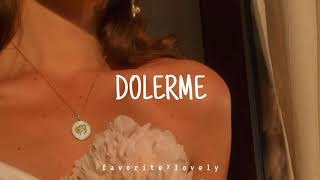 Rosalía - Dolerme (Letra/Lyrics)