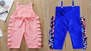 DIY Baby Jumpsuit\Baby Romper For 1-2 Year Girl Full Tutorial