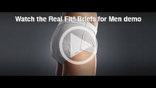 Depend® Real Fit® Briefs for Men