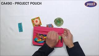 CA490 – Project Pouch   Yazzii Craft Bags