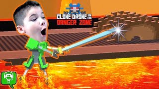 Clone Drone in the Danger Zone Head to Head