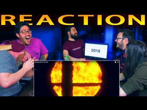 Super Smash Bros. for Switch Reveal Trailer REACTION!! (during Nintendo Direct)