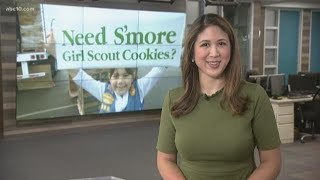 It's Girl Scout cookie season!