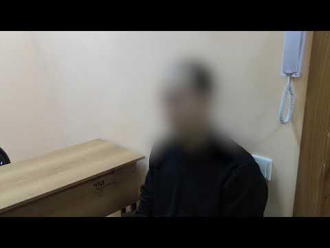 Видеофакт: Совершивший разбойное нападение раскаивается в преступлении