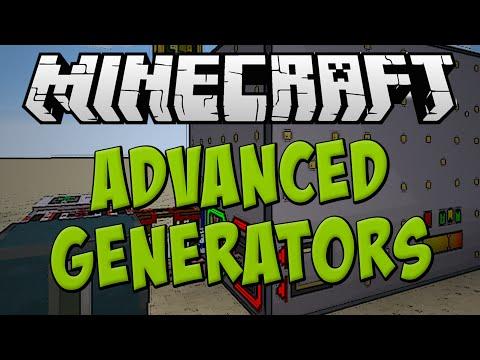 Advanced Generators Mod Spotlight - Best Power Generation? [Minecraft 1.7.10]