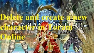 Toram Online Fast Money+Exp at early level *Watch in HD