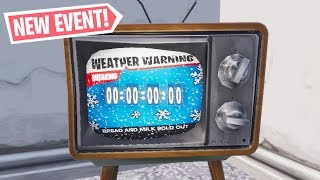 *NEW* WINTER EVENT COUNTDOWN ON TV'S RIGHT NOW! (24/7 Fortnite Livestream)