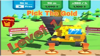Pick The Gold game latest new game  Pick The Gold part 1
