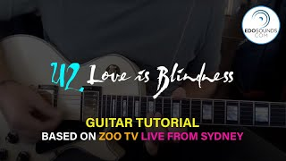 LOVE IS BLINDNESS TUTORIAL