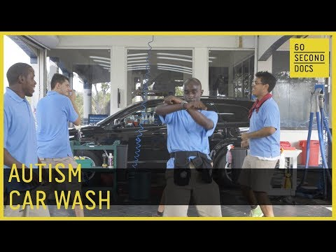 Rising Tide Car Wash in Parkland, Florida, is about more than just a clean car. Founder John D'Eri began the business to help even the workplace playing field for his son, who has autism, and others like him. The crew, consisting mainly of professionals with autism, is inspiring change in the community and empowering people with different needs by providing them with equal opportunities, living wages and a chance for a career.  Source: 60 seconde doc