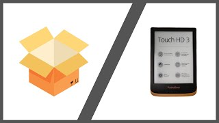 Pocketbook Touch HD 3 e-Book Reader Unboxing   4K