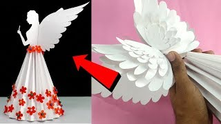 How To Make Paper Angel For Christmas | DIY Christmas Angel With Paper | Christmas Angel With Paper